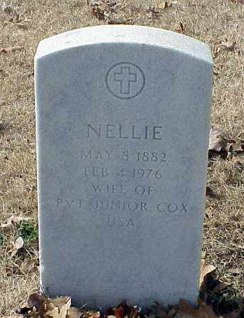 COX, NELLIE - Pulaski County, Arkansas | NELLIE COX - Arkansas Gravestone Photos