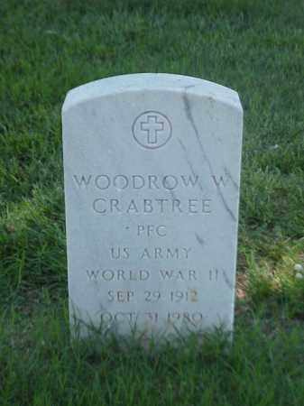 CRABTREE (VETERAN WWII), WOODROW W - Pulaski County, Arkansas | WOODROW W CRABTREE (VETERAN WWII) - Arkansas Gravestone Photos