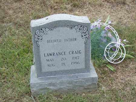 CRAIG, LAWRANCE - Pulaski County, Arkansas | LAWRANCE CRAIG - Arkansas Gravestone Photos