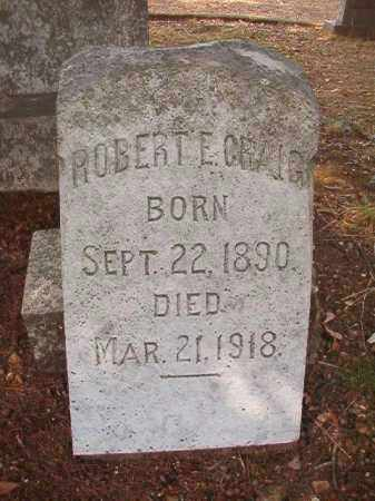 CRAIG, ROBERT E - Pulaski County, Arkansas | ROBERT E CRAIG - Arkansas Gravestone Photos