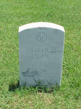 CRAIG (VETERAN 2 WARS), OLIVER H - Pulaski County, Arkansas | OLIVER H CRAIG (VETERAN 2 WARS) - Arkansas Gravestone Photos