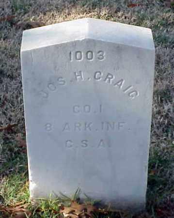 CRAIG (VETERAN CSA), JOSEPH H - Pulaski County, Arkansas | JOSEPH H CRAIG (VETERAN CSA) - Arkansas Gravestone Photos