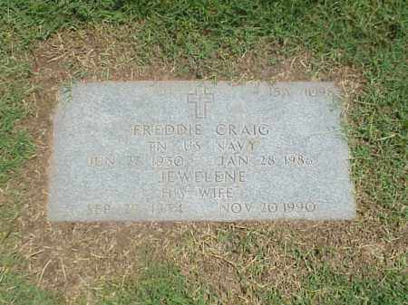 CRAIG, JEWELENE - Pulaski County, Arkansas | JEWELENE CRAIG - Arkansas Gravestone Photos