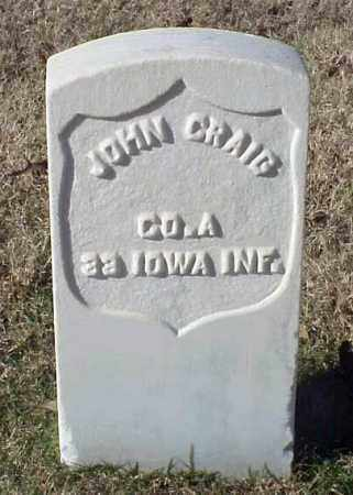 CRAIG (VETERAN UNION), JOHN - Pulaski County, Arkansas | JOHN CRAIG (VETERAN UNION) - Arkansas Gravestone Photos