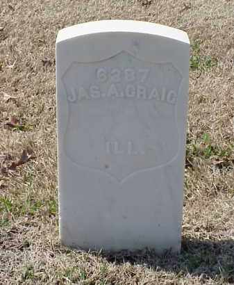 GRAIG (VETERAN UNION), JAMES A - Pulaski County, Arkansas | JAMES A GRAIG (VETERAN UNION) - Arkansas Gravestone Photos