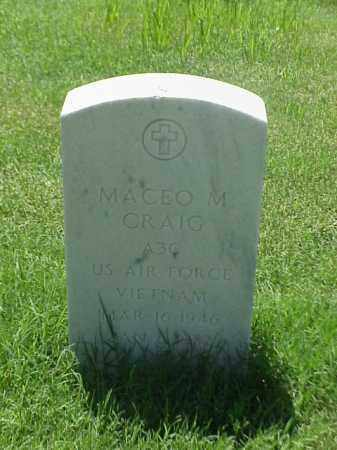 CRAIG (VETERAN VIET), MACEO M - Pulaski County, Arkansas | MACEO M CRAIG (VETERAN VIET) - Arkansas Gravestone Photos