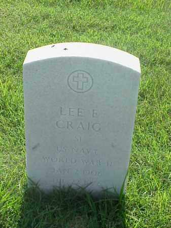 CRAIG (VETERAN WWII), LEE E - Pulaski County, Arkansas | LEE E CRAIG (VETERAN WWII) - Arkansas Gravestone Photos