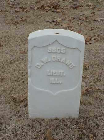 CRANE (VETERAN UNION), D W - Pulaski County, Arkansas | D W CRANE (VETERAN UNION) - Arkansas Gravestone Photos