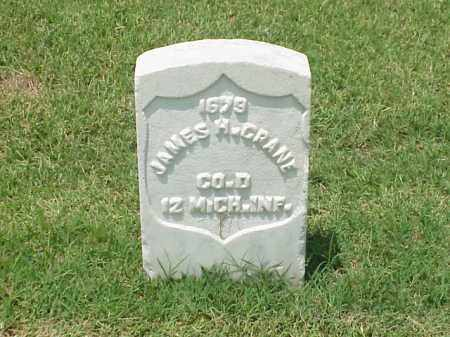 CRANE (VETERAN UNION), JAMES H - Pulaski County, Arkansas | JAMES H CRANE (VETERAN UNION) - Arkansas Gravestone Photos