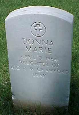 CRAWFORD, DONNA MARIE - Pulaski County, Arkansas   DONNA MARIE CRAWFORD - Arkansas Gravestone Photos