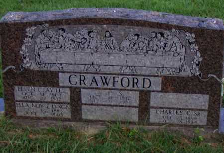 LEE CRAWFORD, ELLEN CLAY - Pulaski County, Arkansas | ELLEN CLAY LEE CRAWFORD - Arkansas Gravestone Photos