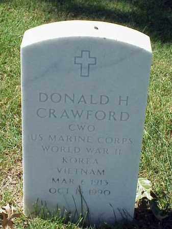 CRAWFORD (VETERAN 3 WARS), DONALD H - Pulaski County, Arkansas | DONALD H CRAWFORD (VETERAN 3 WARS) - Arkansas Gravestone Photos