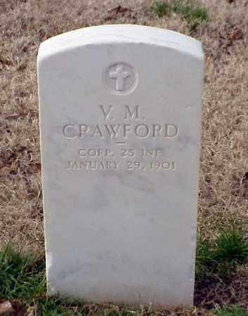 CRAWFORD (VETERAN SAW), V M - Pulaski County, Arkansas | V M CRAWFORD (VETERAN SAW) - Arkansas Gravestone Photos