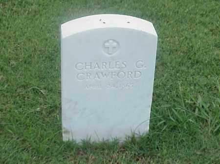 CRAWFORD, CHARLES G - Pulaski County, Arkansas | CHARLES G CRAWFORD - Arkansas Gravestone Photos