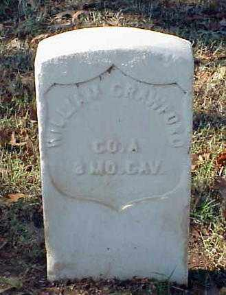 CRAWFORD (VETERAN UNION), WILLIAM - Pulaski County, Arkansas | WILLIAM CRAWFORD (VETERAN UNION) - Arkansas Gravestone Photos