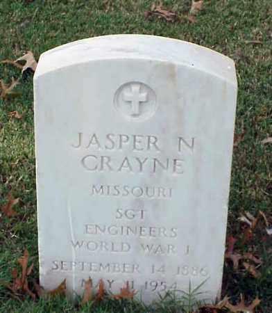 CRAYNE (VETERAN WWI), JASPER N - Pulaski County, Arkansas | JASPER N CRAYNE (VETERAN WWI) - Arkansas Gravestone Photos