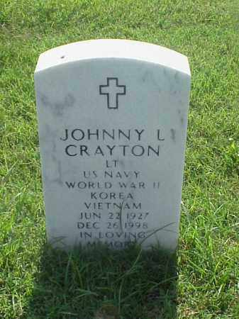 CRAYTON (VETERAN 3 WARS), JOHNNY L - Pulaski County, Arkansas | JOHNNY L CRAYTON (VETERAN 3 WARS) - Arkansas Gravestone Photos