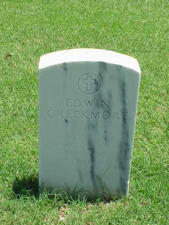 CREEKMORE (VETERAN WWII), EDWIN - Pulaski County, Arkansas | EDWIN CREEKMORE (VETERAN WWII) - Arkansas Gravestone Photos