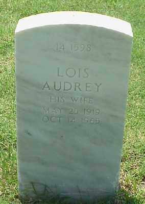 CREEMER, LOIS AUDREY - Pulaski County, Arkansas | LOIS AUDREY CREEMER - Arkansas Gravestone Photos