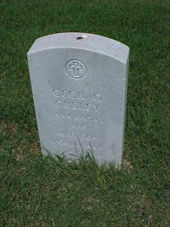 CRELEY (VETERAN WWI), CECIL G - Pulaski County, Arkansas | CECIL G CRELEY (VETERAN WWI) - Arkansas Gravestone Photos