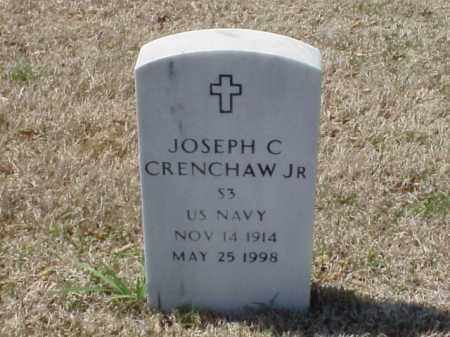 CRENCHAW, JR (VETERAN), JOSPEH C - Pulaski County, Arkansas | JOSPEH C CRENCHAW, JR (VETERAN) - Arkansas Gravestone Photos