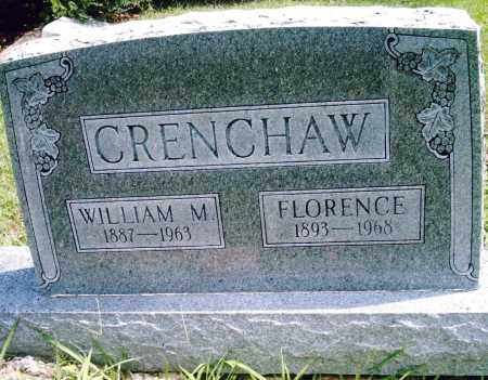 CRENCHAW, WILLIAM M. - Pulaski County, Arkansas | WILLIAM M. CRENCHAW - Arkansas Gravestone Photos
