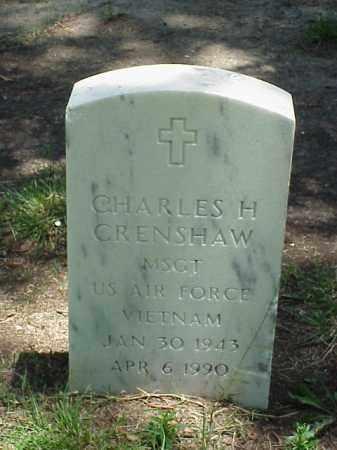 CRENSHAW (VETERAN VIET), CHARLES H - Pulaski County, Arkansas | CHARLES H CRENSHAW (VETERAN VIET) - Arkansas Gravestone Photos