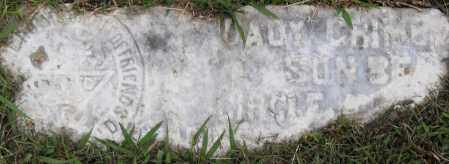CRIME_, SADY - Pulaski County, Arkansas | SADY CRIME_ - Arkansas Gravestone Photos