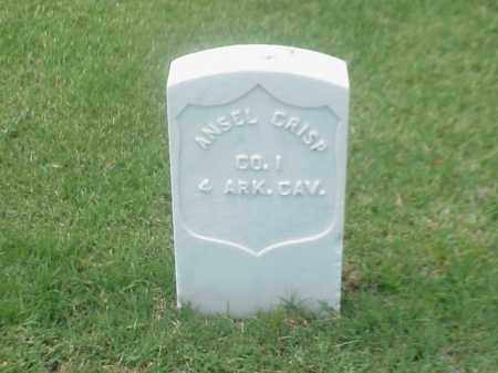 CRISP (VETERAN UNION), ANSEL - Pulaski County, Arkansas | ANSEL CRISP (VETERAN UNION) - Arkansas Gravestone Photos