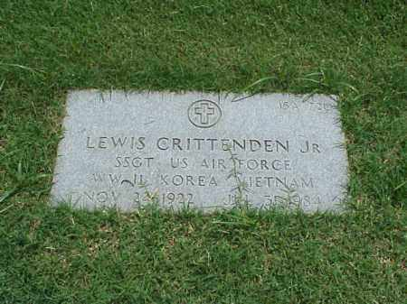 CRITTENDEN, JR  (VETERAN 3 WAR, LEWIS - Pulaski County, Arkansas | LEWIS CRITTENDEN, JR  (VETERAN 3 WAR - Arkansas Gravestone Photos