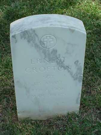 CROFTON (VETERAN WWII), ERNEST - Pulaski County, Arkansas | ERNEST CROFTON (VETERAN WWII) - Arkansas Gravestone Photos