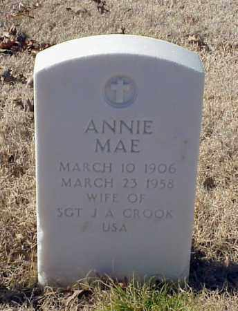 CROOK, ANNIE MAE - Pulaski County, Arkansas | ANNIE MAE CROOK - Arkansas Gravestone Photos