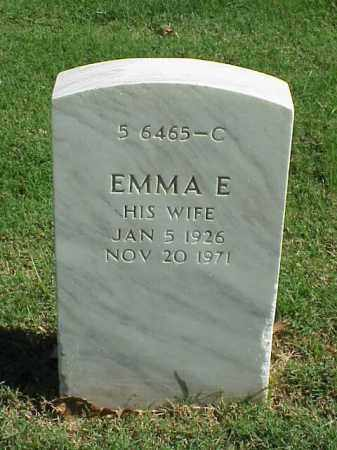CROOK, EMMA E - Pulaski County, Arkansas | EMMA E CROOK - Arkansas Gravestone Photos