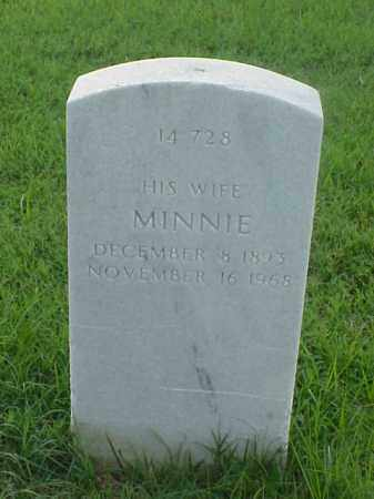 CROSS, MINNIE - Pulaski County, Arkansas | MINNIE CROSS - Arkansas Gravestone Photos