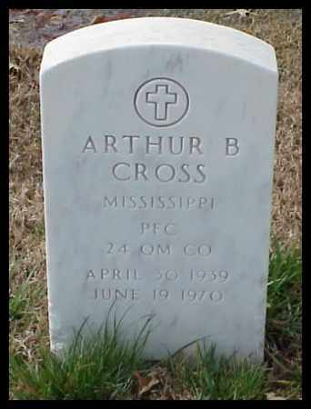 CROSS (VETERAN), ARTHUR B - Pulaski County, Arkansas | ARTHUR B CROSS (VETERAN) - Arkansas Gravestone Photos