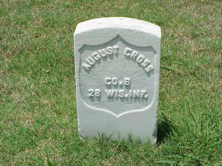 CROSS (VETERAN UNION), AUGUST - Pulaski County, Arkansas | AUGUST CROSS (VETERAN UNION) - Arkansas Gravestone Photos