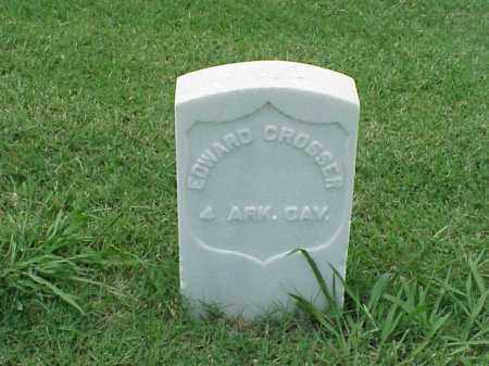 CROSSER (VETERAN UNION), EDWARD - Pulaski County, Arkansas | EDWARD CROSSER (VETERAN UNION) - Arkansas Gravestone Photos