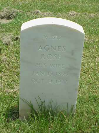 CROSSETT, AGNES ROSE - Pulaski County, Arkansas | AGNES ROSE CROSSETT - Arkansas Gravestone Photos