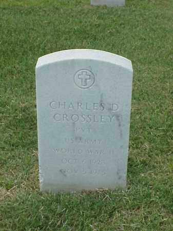 CROSSLEY (VETERAN WWII), CHARLES D - Pulaski County, Arkansas | CHARLES D CROSSLEY (VETERAN WWII) - Arkansas Gravestone Photos