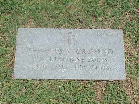 CROSSNO (VETERAN), CHARLES V - Pulaski County, Arkansas | CHARLES V CROSSNO (VETERAN) - Arkansas Gravestone Photos