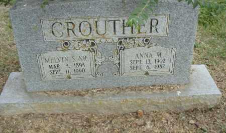 CROUTHER, ANNA  M. - Pulaski County, Arkansas | ANNA  M. CROUTHER - Arkansas Gravestone Photos