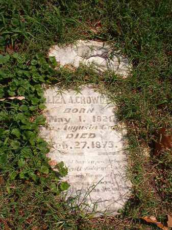 CROWDER, ELIZA A - Pulaski County, Arkansas | ELIZA A CROWDER - Arkansas Gravestone Photos