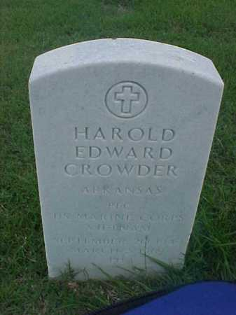 CROWDER (VETERAN VIET), HAROLD EDWARD - Pulaski County, Arkansas | HAROLD EDWARD CROWDER (VETERAN VIET) - Arkansas Gravestone Photos