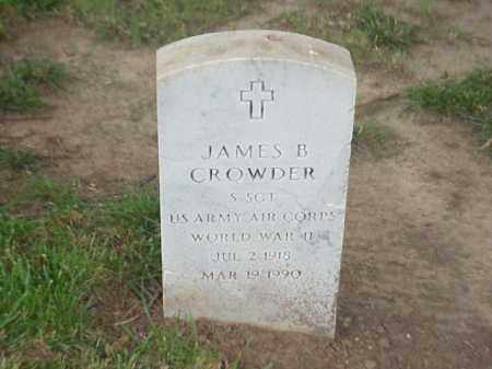 CROWDER (VETERAN WWII), JAMES B - Pulaski County, Arkansas | JAMES B CROWDER (VETERAN WWII) - Arkansas Gravestone Photos
