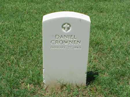 CROWNEN (VETERAN UNION), DANIEL - Pulaski County, Arkansas | DANIEL CROWNEN (VETERAN UNION) - Arkansas Gravestone Photos