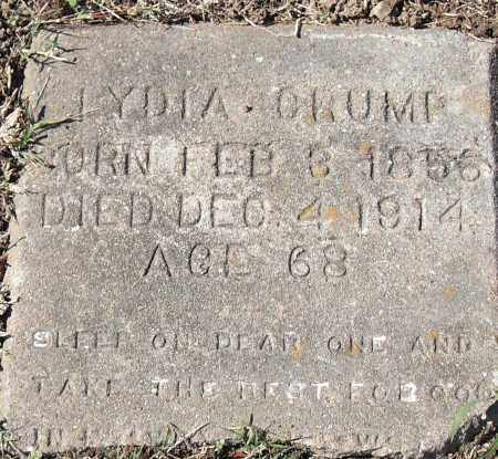 CRUMP, LYDIA - Pulaski County, Arkansas | LYDIA CRUMP - Arkansas Gravestone Photos