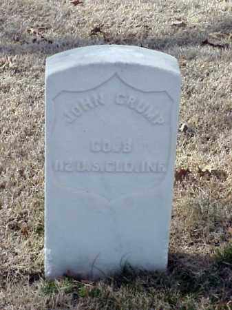 CRUMP (VETERAN UNION), JOHN - Pulaski County, Arkansas | JOHN CRUMP (VETERAN UNION) - Arkansas Gravestone Photos