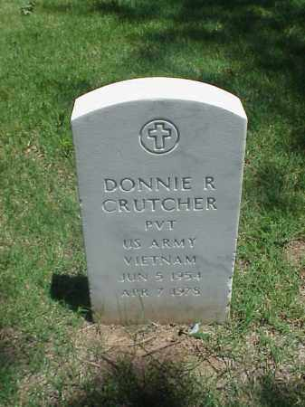 CRUTCHER (VETERAN VIET), DONNIE R - Pulaski County, Arkansas | DONNIE R CRUTCHER (VETERAN VIET) - Arkansas Gravestone Photos
