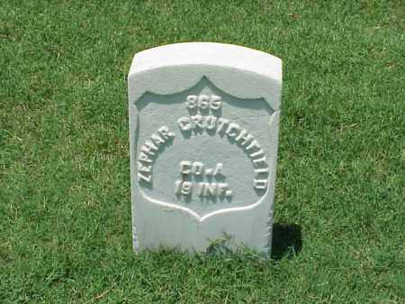 CRUTCHFIELD (VETERAN UNION), ZEPHAR - Pulaski County, Arkansas | ZEPHAR CRUTCHFIELD (VETERAN UNION) - Arkansas Gravestone Photos
