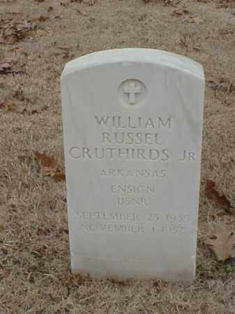 CRUTHIRDS, JR (VETERAN KOR), WILLIAM RUSSEL - Pulaski County, Arkansas | WILLIAM RUSSEL CRUTHIRDS, JR (VETERAN KOR) - Arkansas Gravestone Photos